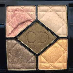 """Dior 5 colour eyeshadow palette in """"Sunset Cafe"""""""